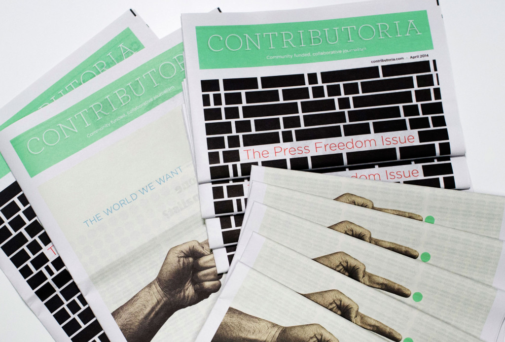 Contributoria Newspapers