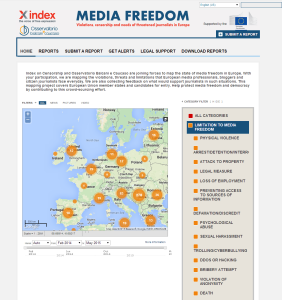 Mapping Media Freedom in Europe